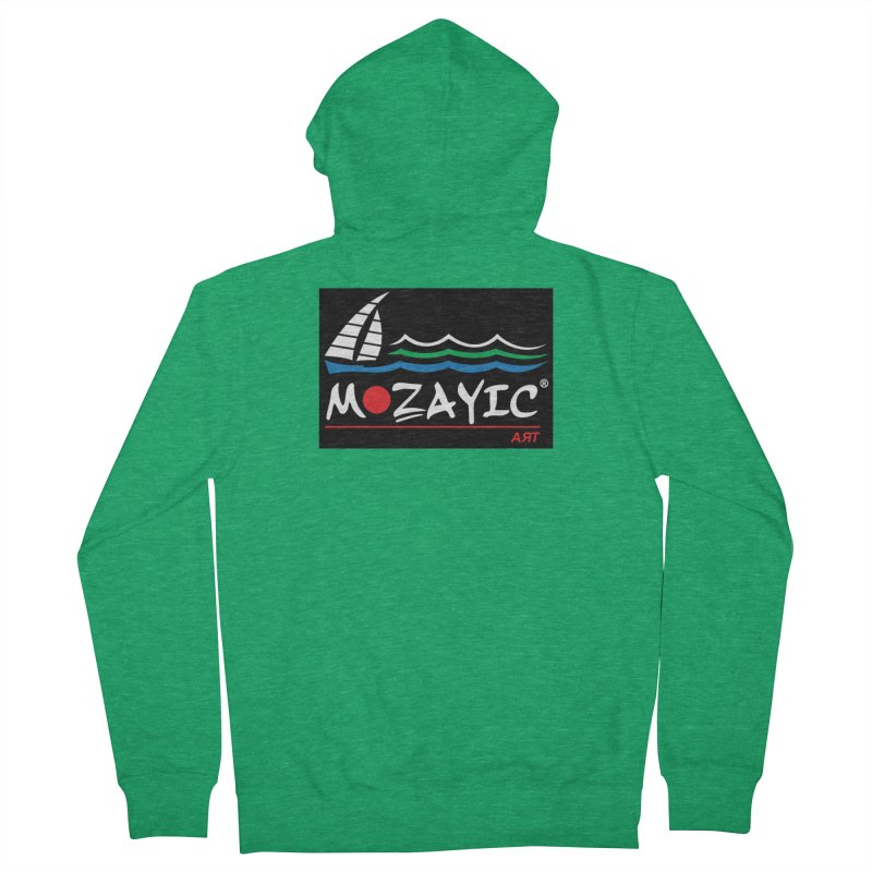 Mozayic sport Men's Zip-Up Hoody by Mozayic's Artist Shop