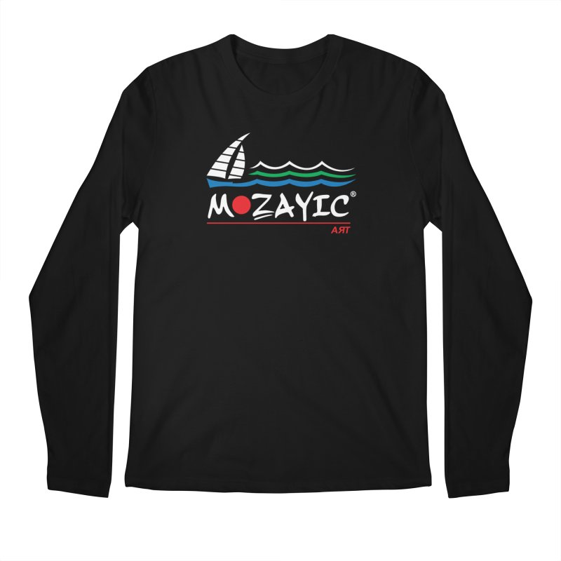 Mozayic sport Men's Longsleeve T-Shirt by Mozayic's Artist Shop