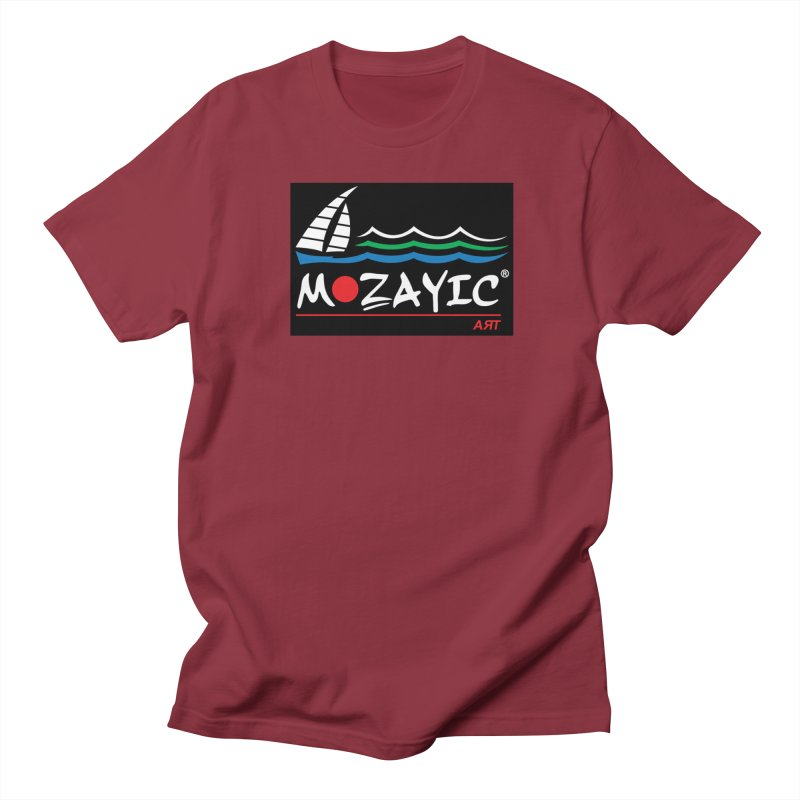 Mozayic sport Men's Regular T-Shirt by Mozayic's Artist Shop
