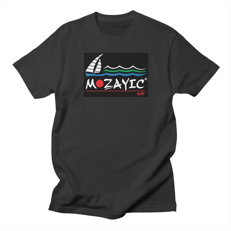 Mozayic sport Men's T-Shirt by Mozayic's Artist Shop