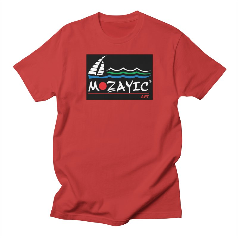 Mozayic sport Men's T-Shirt by Mozayic's Artist Shop