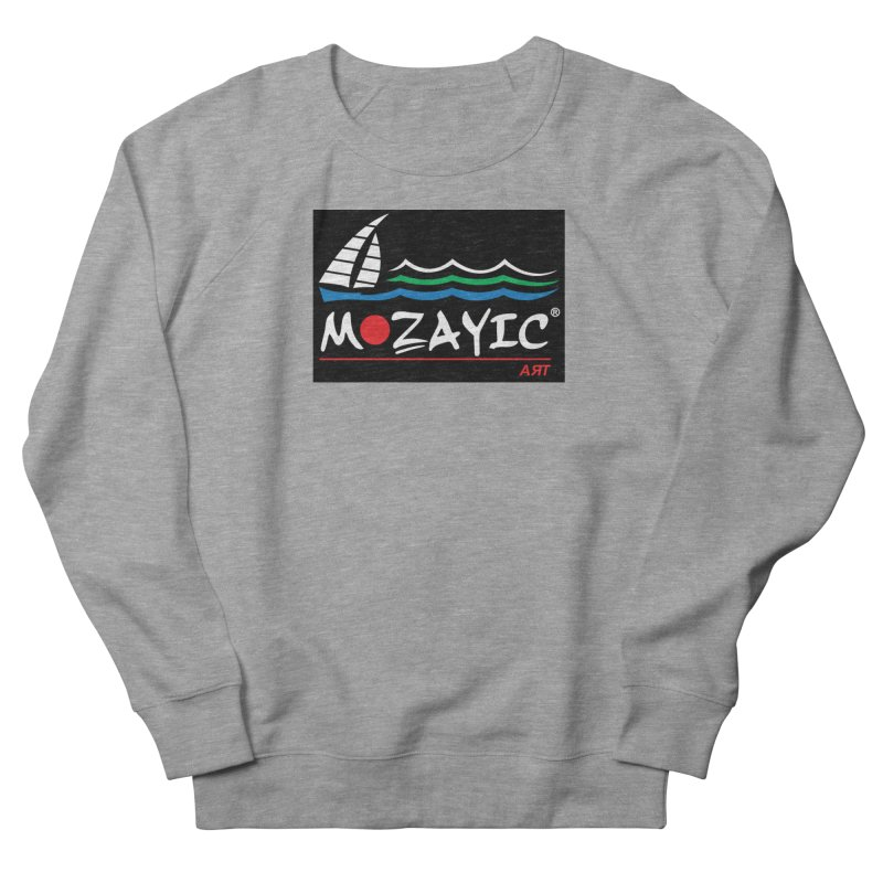 Mozayic sport Women's French Terry Sweatshirt by Mozayic's Artist Shop