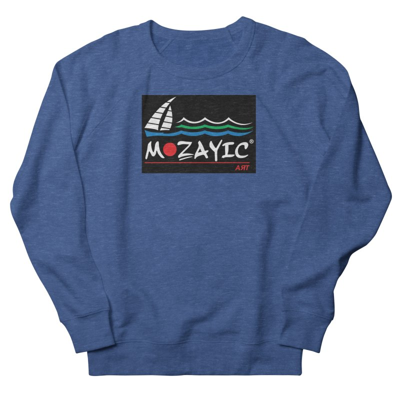 Mozayic sport Men's Sweatshirt by Mozayic's Artist Shop