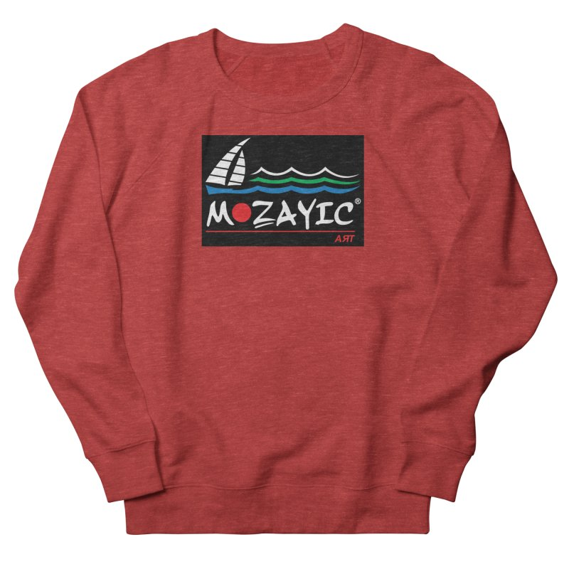 Mozayic sport Men's French Terry Sweatshirt by Mozayic's Artist Shop