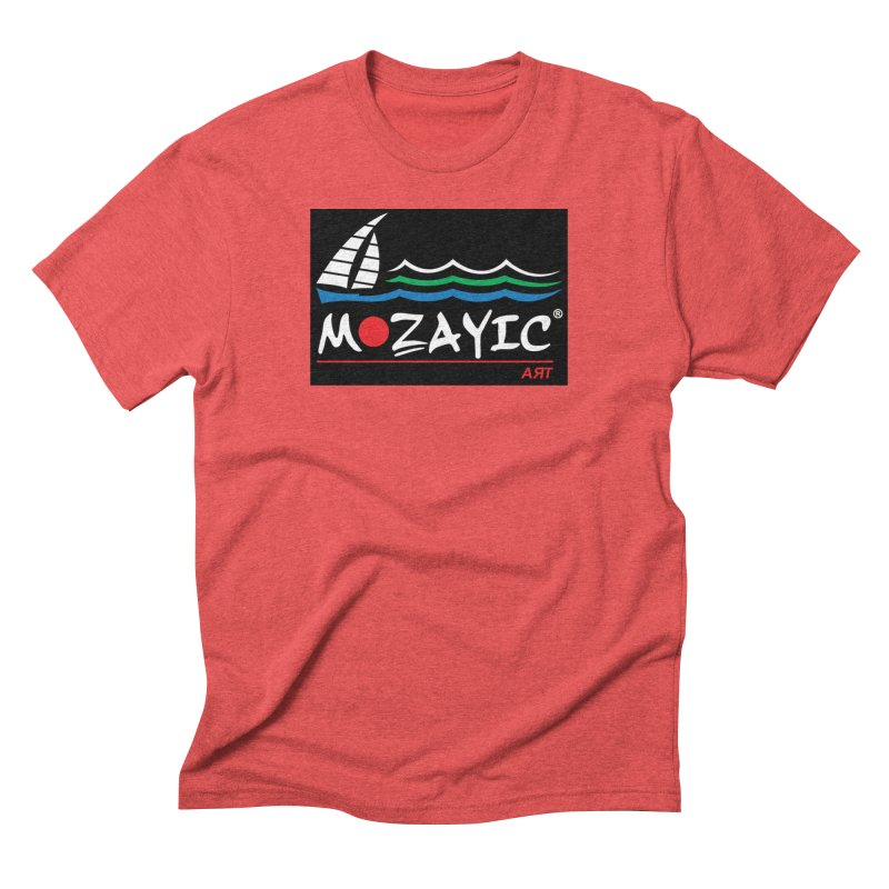Mozayic sport Men's Triblend T-Shirt by Mozayic's Artist Shop