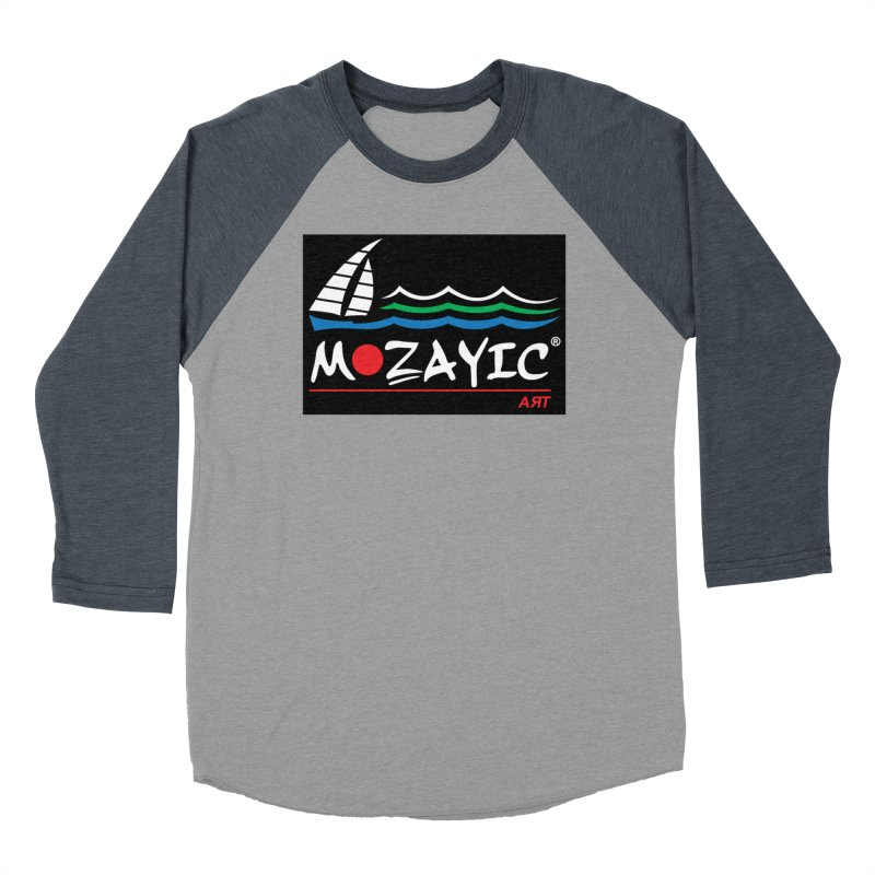 Mozayic sport Women's Baseball Triblend Longsleeve T-Shirt by Mozayic's Artist Shop