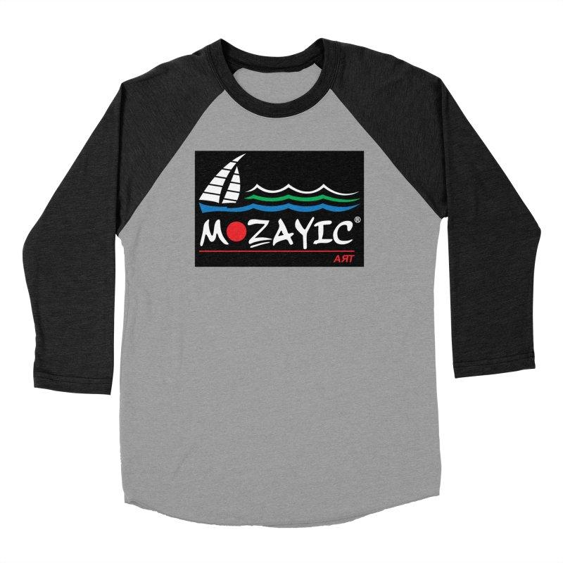Mozayic sport Men's Baseball Triblend Longsleeve T-Shirt by Mozayic's Artist Shop