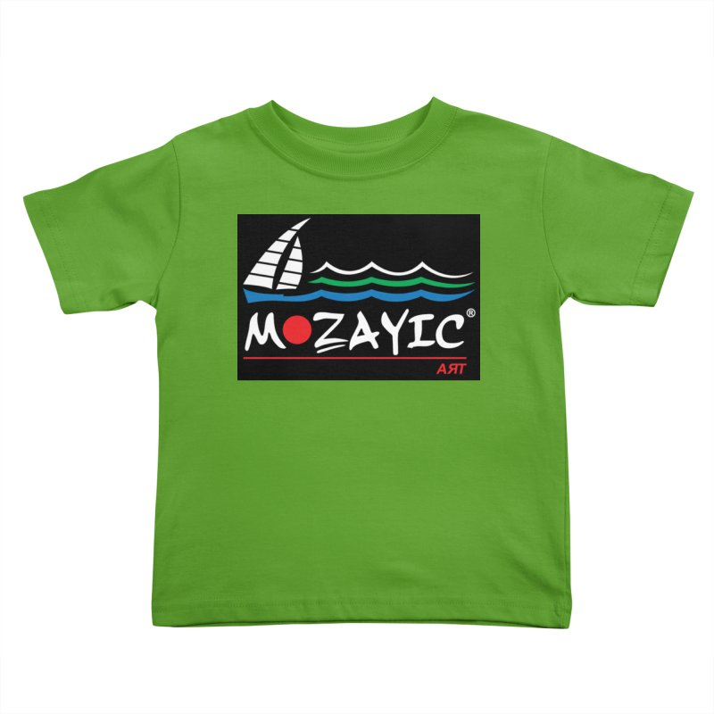 Mozayic sport Kids Toddler T-Shirt by Mozayic's Artist Shop