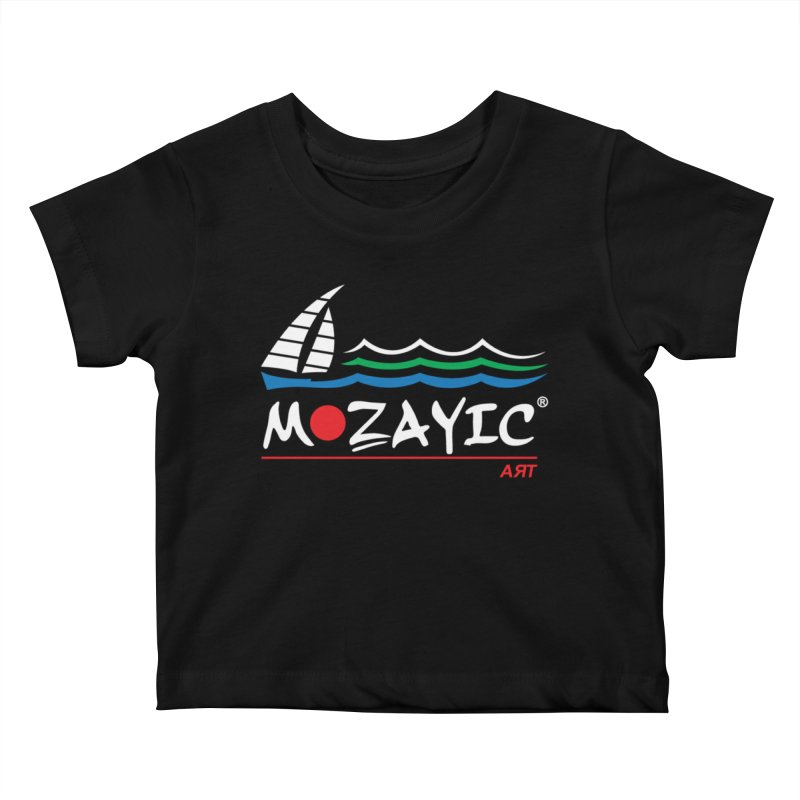 Mozayic sport Kids Baby T-Shirt by Mozayic's Artist Shop