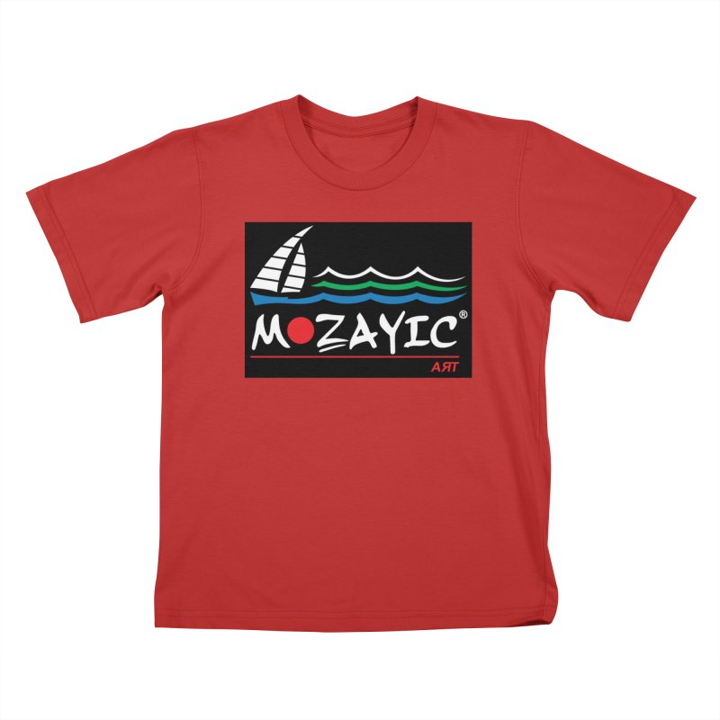 Mozayic sport Kids T-Shirt by Mozayic's Artist Shop