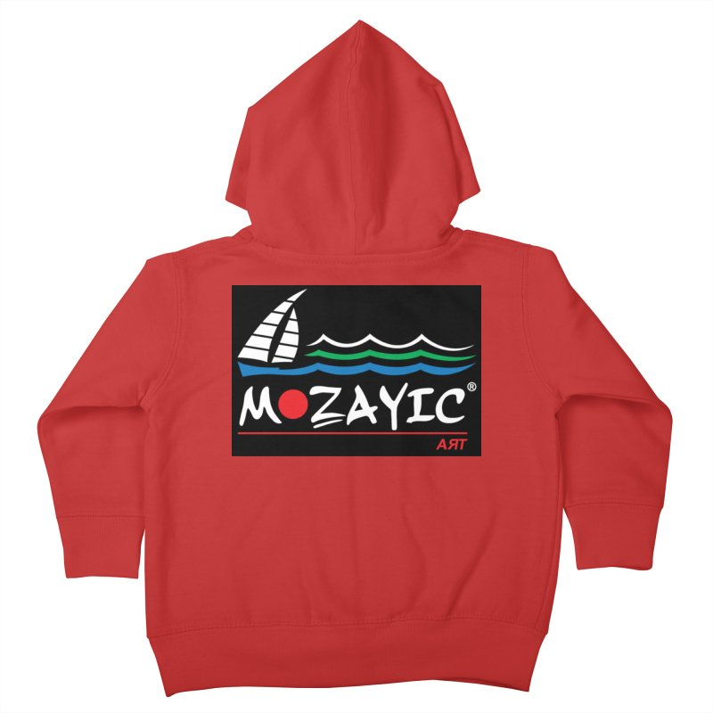 Mozayic sport Kids Toddler Zip-Up Hoody by Mozayic's Artist Shop