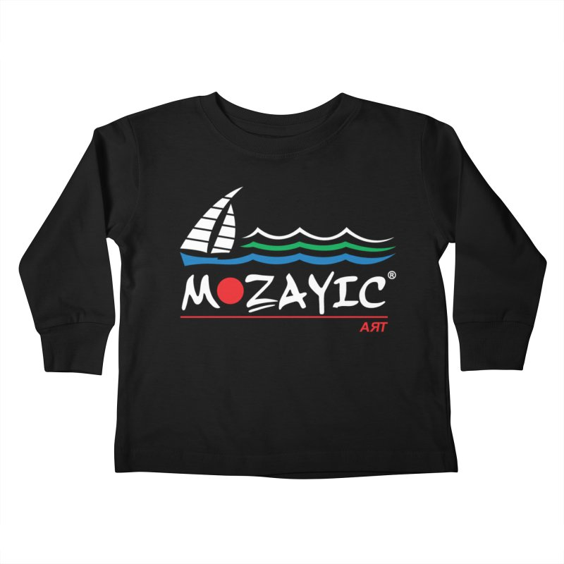 Mozayic sport Kids Toddler Longsleeve T-Shirt by Mozayic's Artist Shop