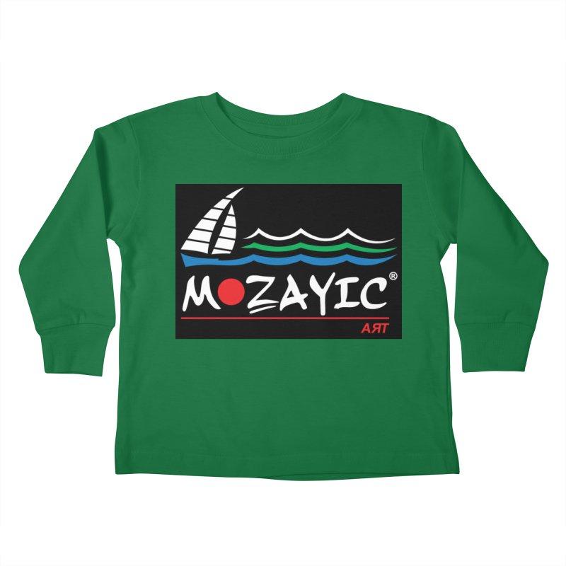 Mozayic sport Kids Toddler Longsleeve T-Shirt by Mozayic's Artist Shop
