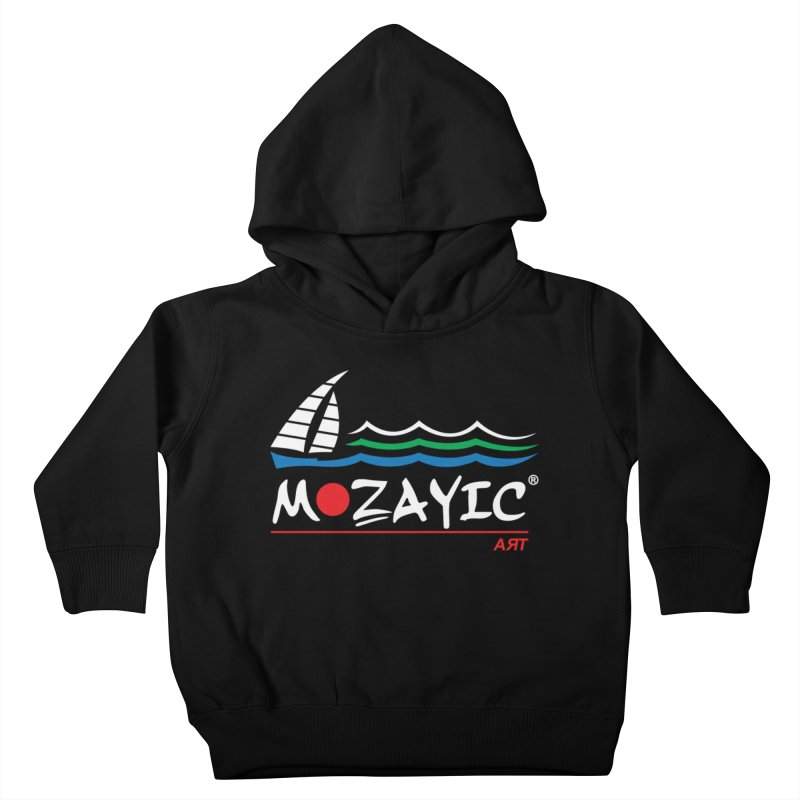 Mozayic sport Kids Toddler Pullover Hoody by Mozayic's Artist Shop