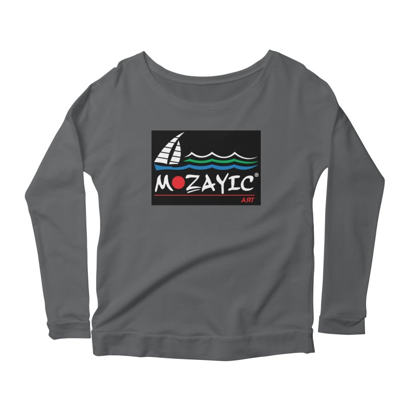Mozayic sport Women's Scoop Neck Longsleeve T-Shirt by Mozayic's Artist Shop