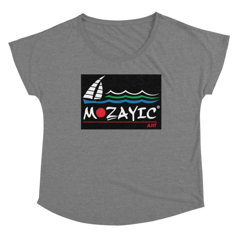 Mozayic sport Women's Scoop Neck by Mozayic's Artist Shop