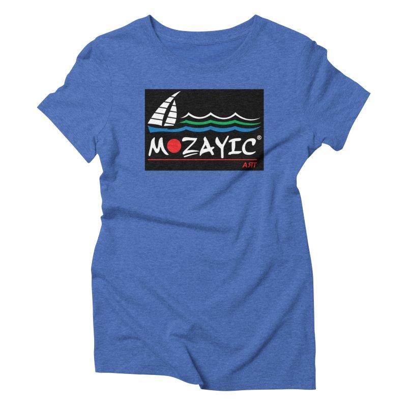Mozayic sport Women's Triblend T-Shirt by Mozayic's Artist Shop