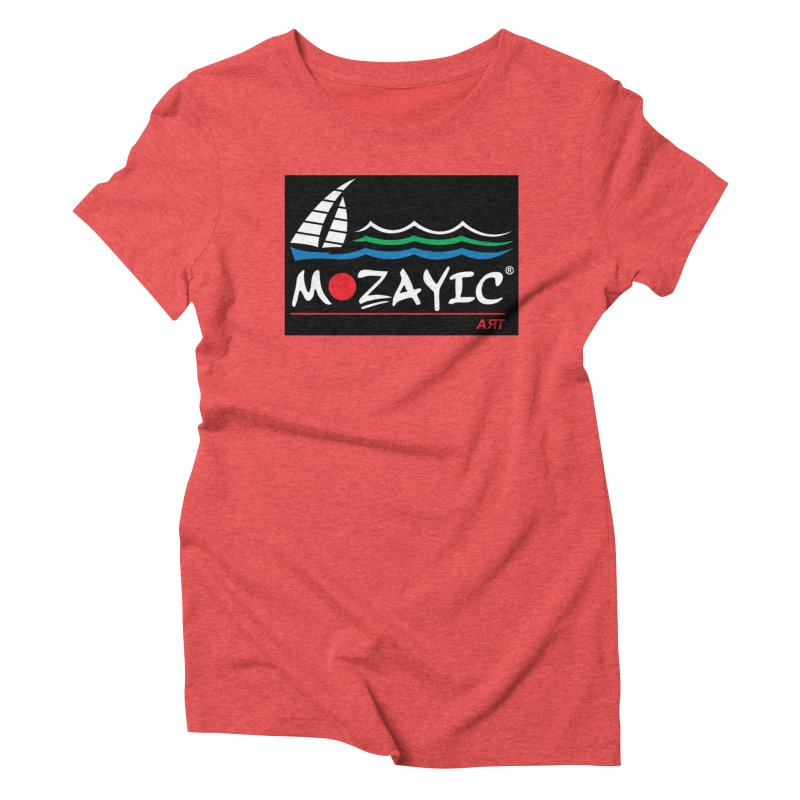 Mozayic sport Women's Triblend T-Shirt by Mozayic's Artist Shop