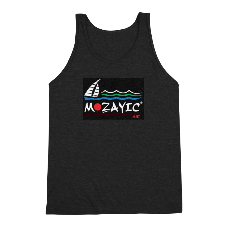 Mozayic sport Men's Triblend Tank by Mozayic's Artist Shop