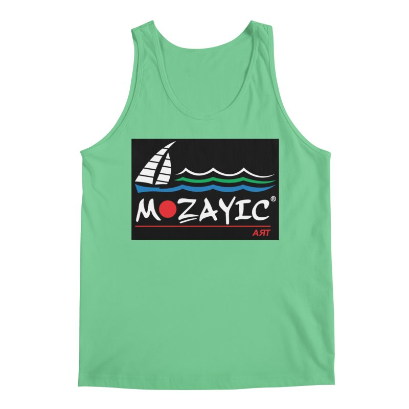 Mozayic sport Men's Regular Tank by Mozayic's Artist Shop