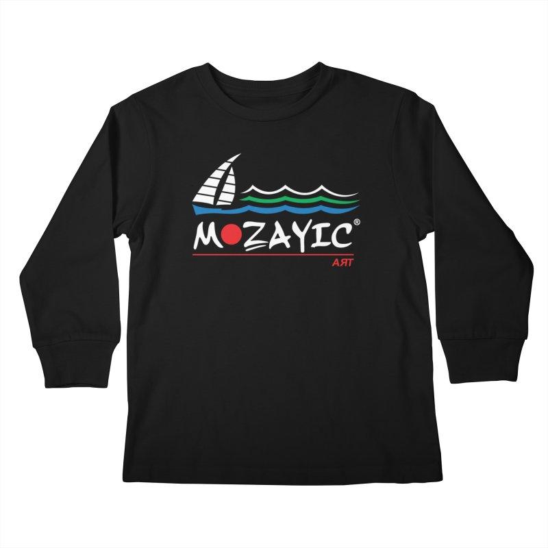 Mozayic sport Kids Longsleeve T-Shirt by Mozayic's Artist Shop