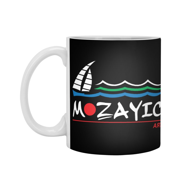 Mozayic sport Accessories Standard Mug by Mozayic's Artist Shop
