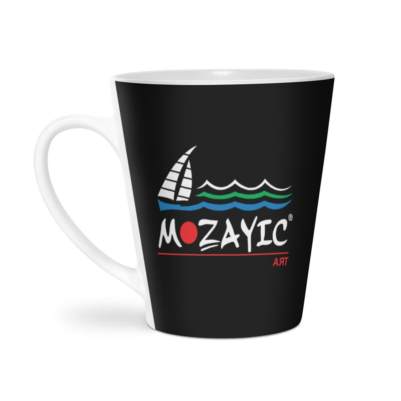 Mozayic sport Accessories Latte Mug by Mozayic's Artist Shop