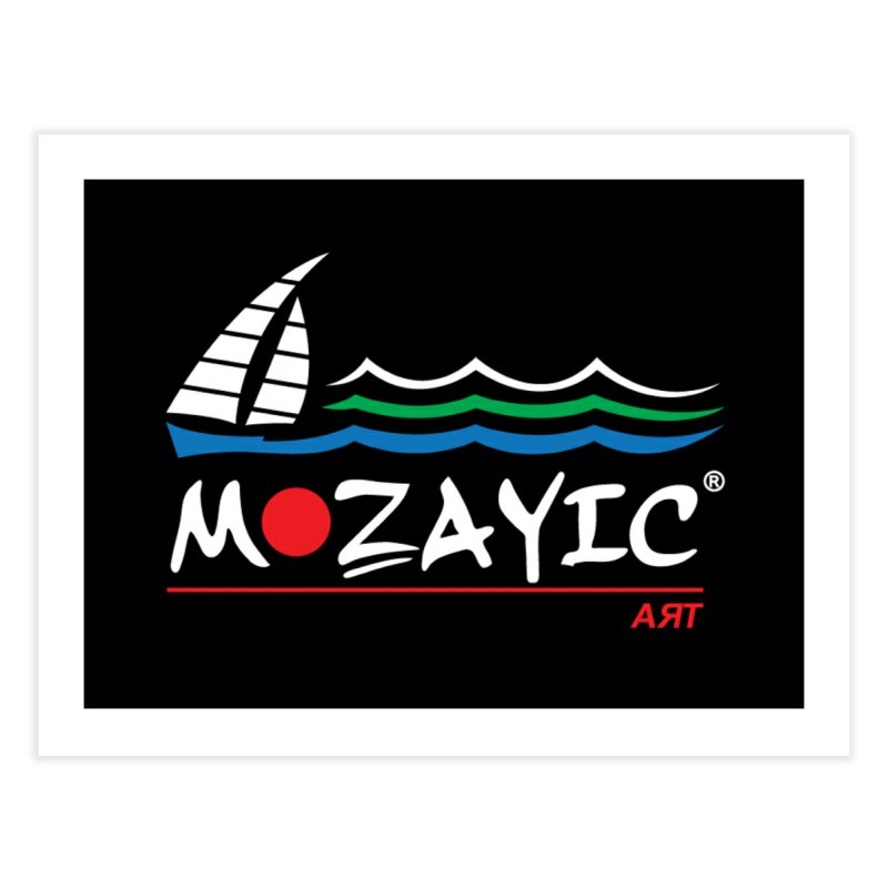 Mozayic sport Home Fine Art Print by Mozayic's Artist Shop