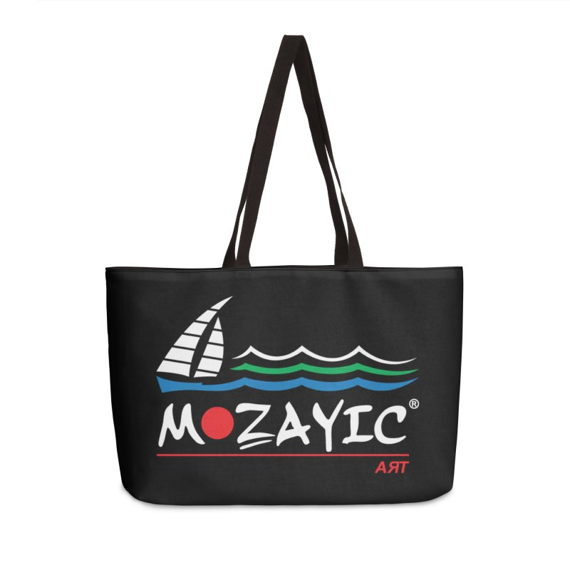 Mozayic sport Accessories Weekender Bag Bag by Mozayic's Artist Shop
