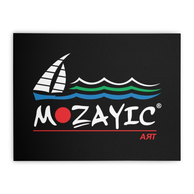 Mozayic sport Home Stretched Canvas by Mozayic's Artist Shop