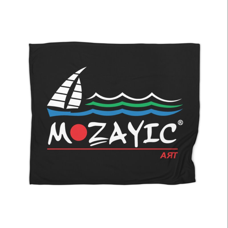 Mozayic sport Home Fleece Blanket Blanket by Mozayic's Artist Shop