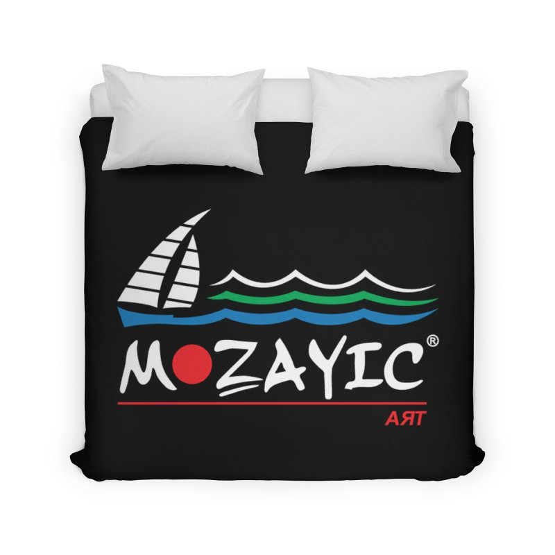 Mozayic sport Home Duvet by Mozayic's Artist Shop