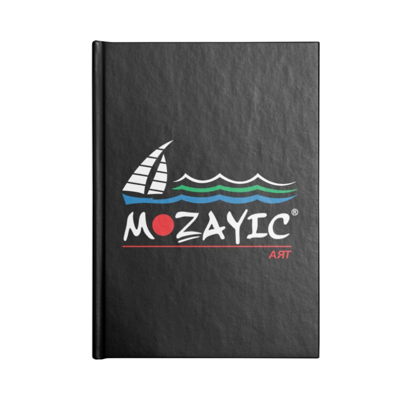 Mozayic sport Accessories Lined Journal Notebook by Mozayic's Artist Shop