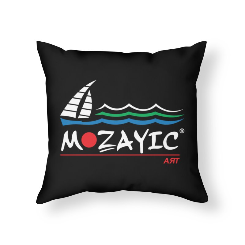 Mozayic sport Home Throw Pillow by Mozayic's Artist Shop