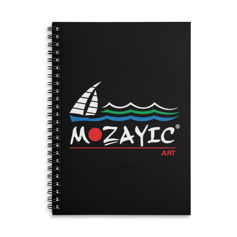 Mozayic sport Accessories Notebook by Mozayic's Artist Shop