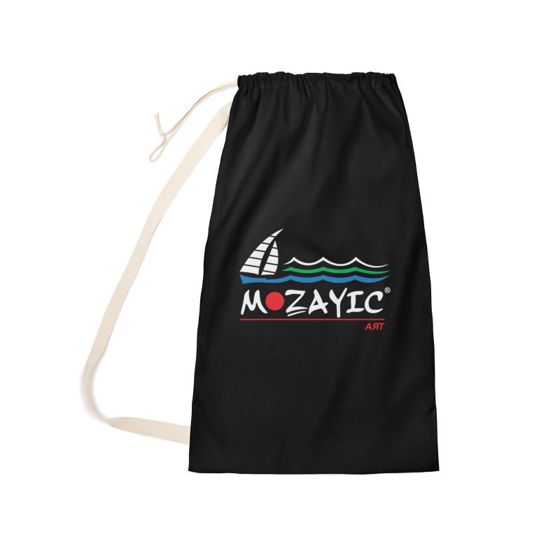 Mozayic sport Accessories Laundry Bag Bag by Mozayic's Artist Shop