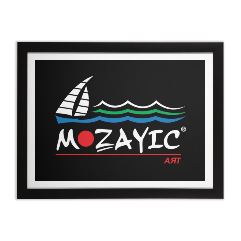 Mozayic sport Home Framed Fine Art Print by Mozayic's Artist Shop