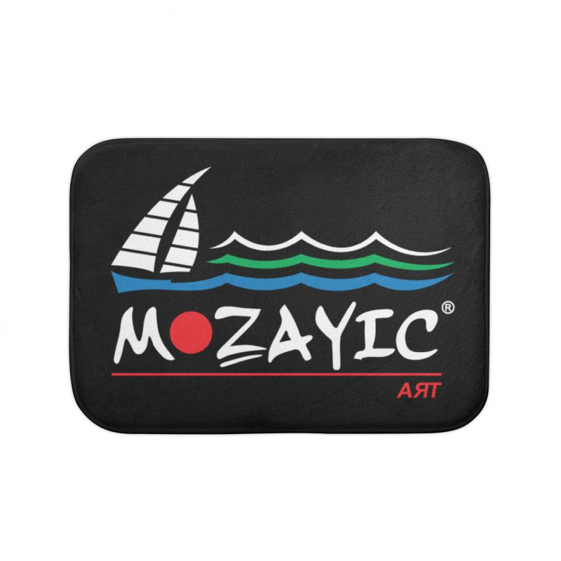 Mozayic sport Home Bath Mat by Mozayic's Artist Shop