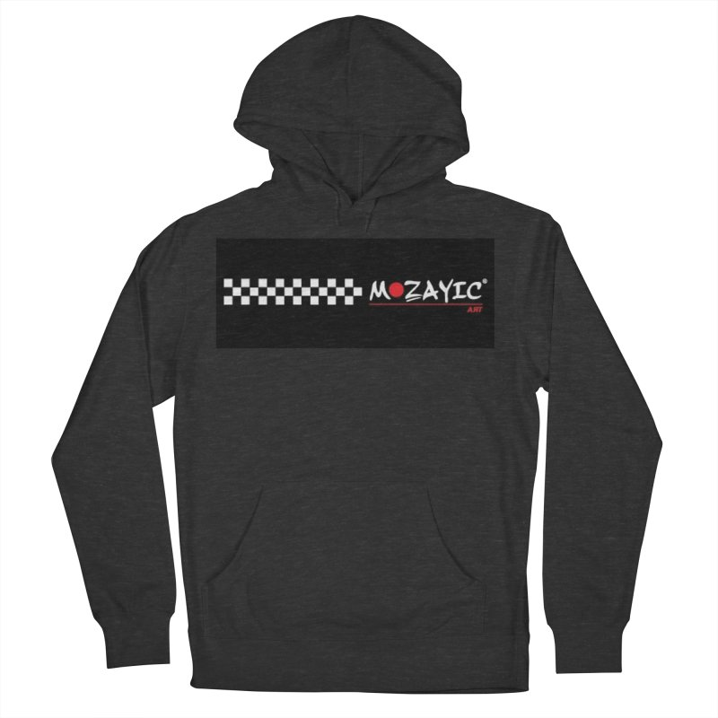 Racing Women's French Terry Pullover Hoody by Mozayic's Artist Shop