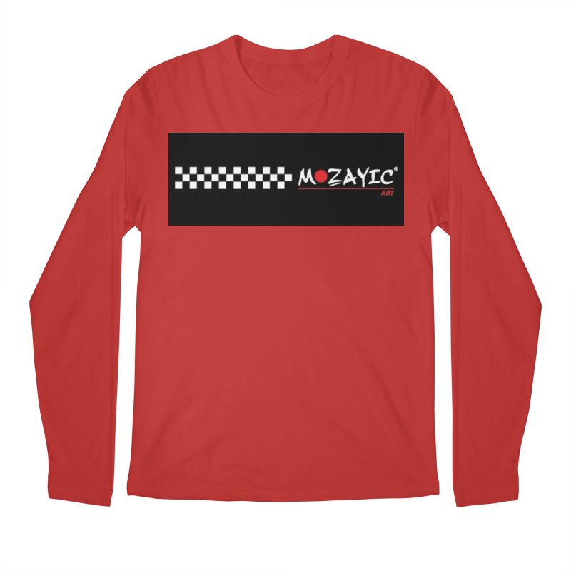 Racing Men's Regular Longsleeve T-Shirt by Mozayic's Artist Shop