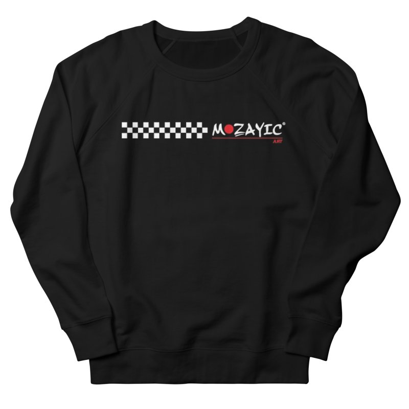 Racing Men's French Terry Sweatshirt by Mozayic's Artist Shop