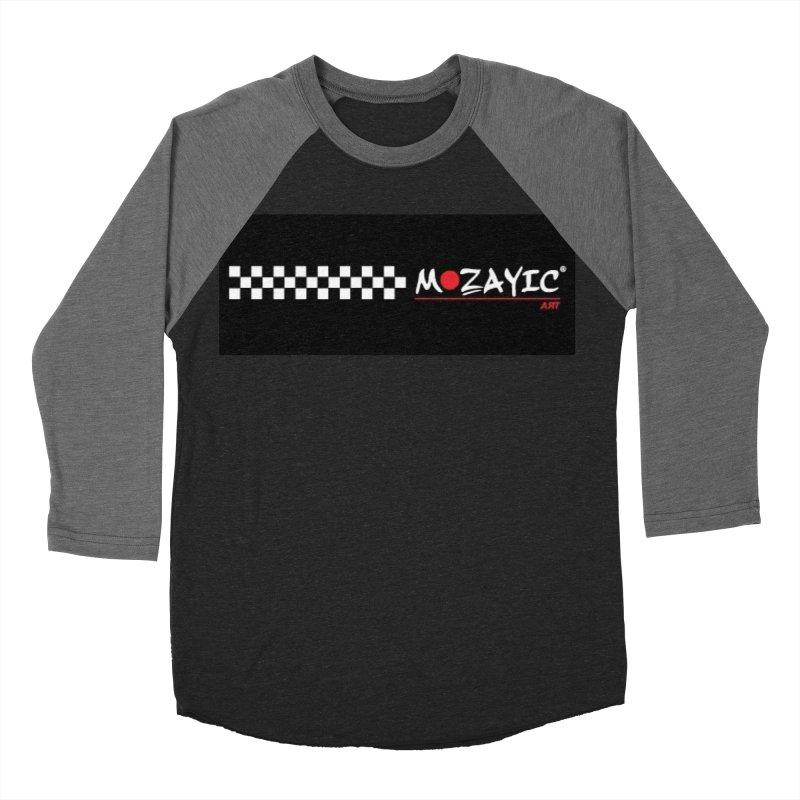 Racing Women's Baseball Triblend Longsleeve T-Shirt by Mozayic's Artist Shop