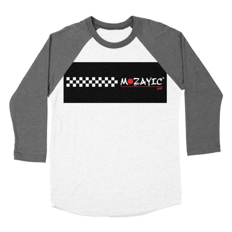 Racing Men's Baseball Triblend Longsleeve T-Shirt by Mozayic's Artist Shop