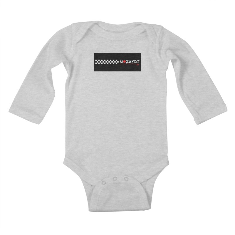 Racing Kids Baby Longsleeve Bodysuit by Mozayic's Artist Shop