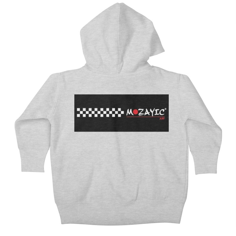 Racing Kids Baby Zip-Up Hoody by Mozayic's Artist Shop