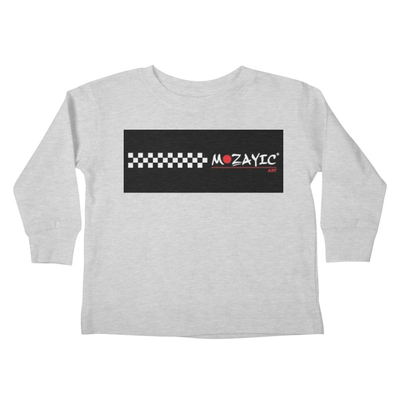 Racing Kids Toddler Longsleeve T-Shirt by Mozayic's Artist Shop