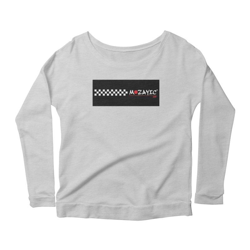 Racing Women's Scoop Neck Longsleeve T-Shirt by Mozayic's Artist Shop