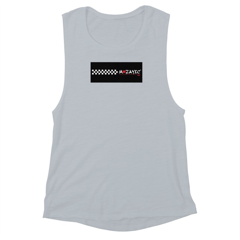 Racing Women's Muscle Tank by Mozayic's Artist Shop