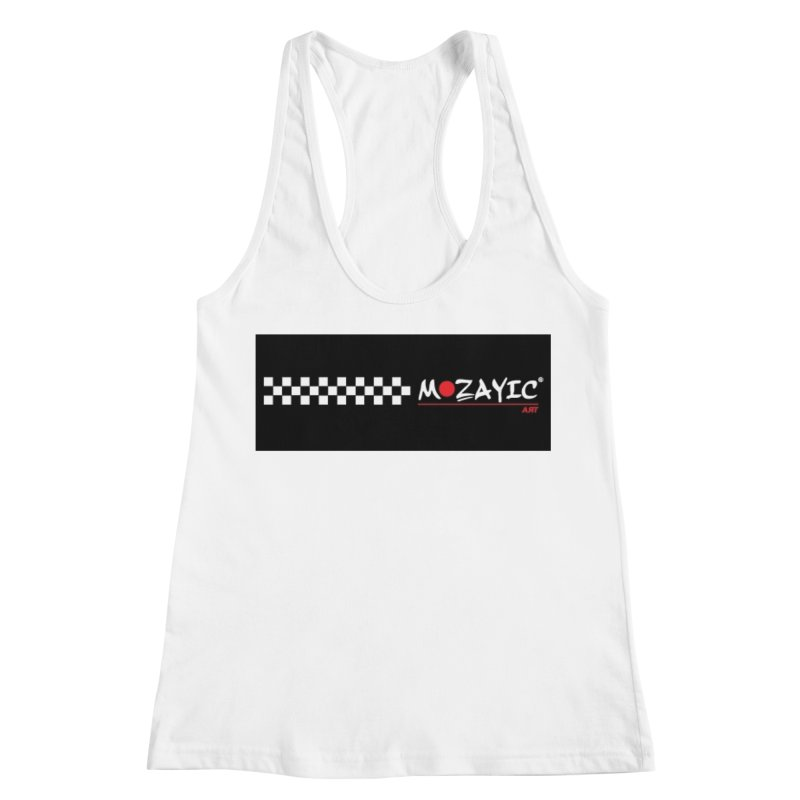 Racing Women's Racerback Tank by Mozayic's Artist Shop