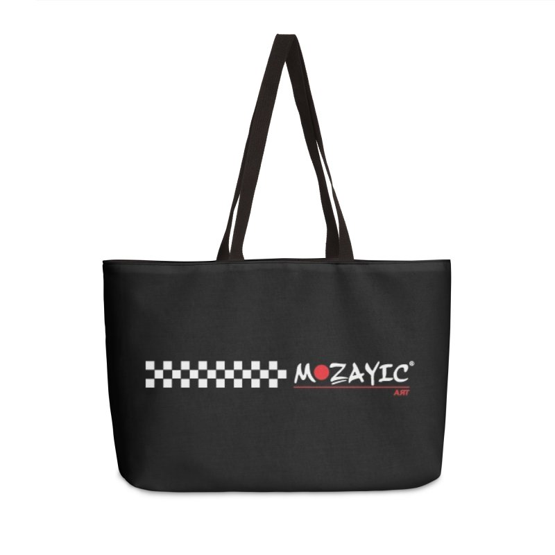 Racing Accessories Weekender Bag Bag by Mozayic's Artist Shop